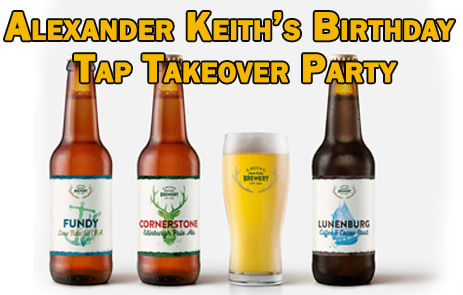 Alexander Keith's 222nd Birthday - Tap Takeover