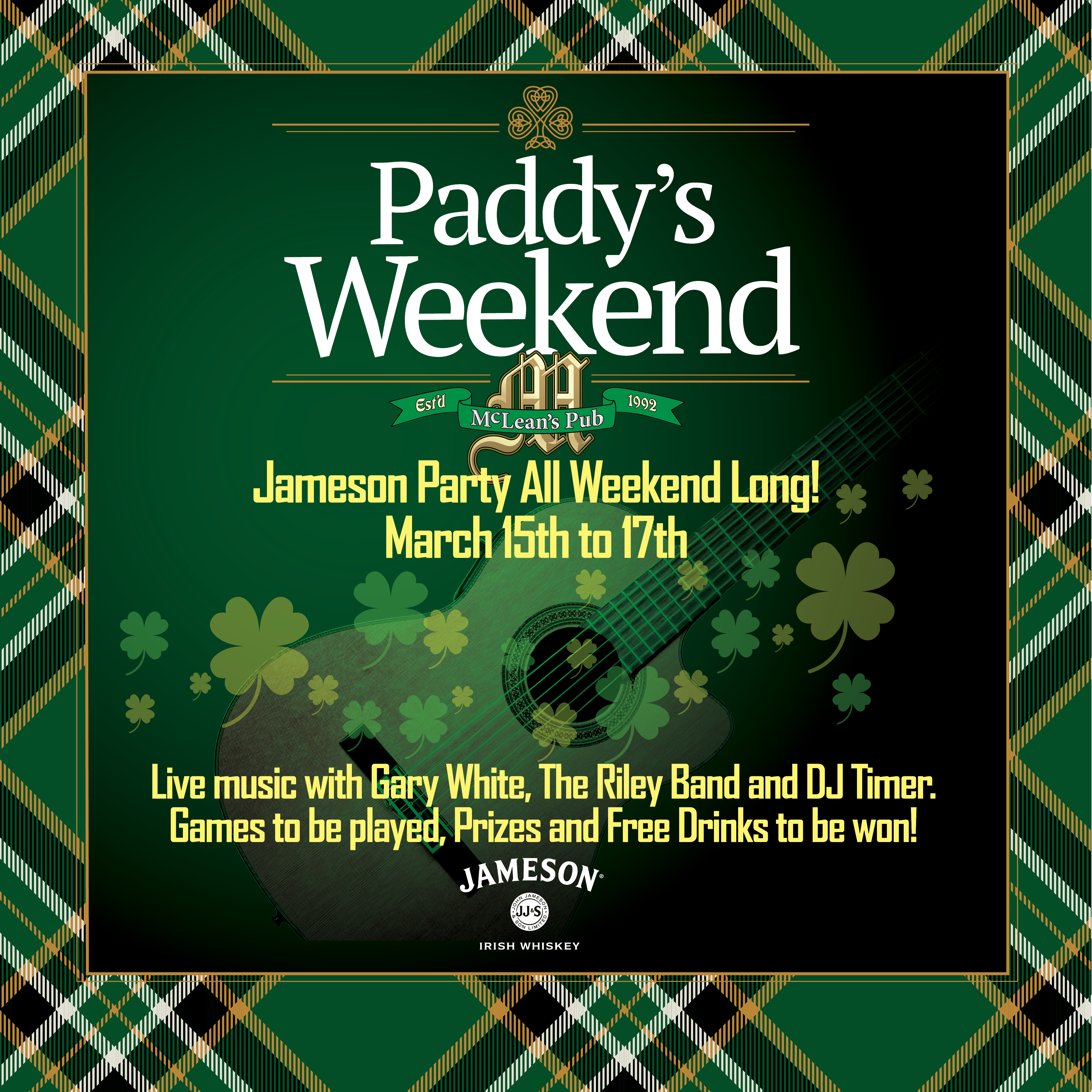St-Patrick's Weekend!